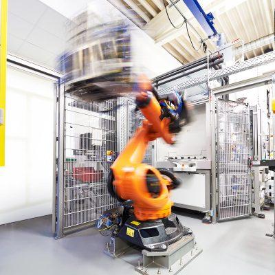 Roboter Drehung Foto Wellmann