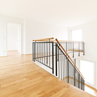 Interior, Treppengeländer