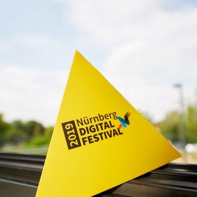 Pyramide Nürnberg Digital Festival 2019 noris network Fotografie:Eduard Wellmann
